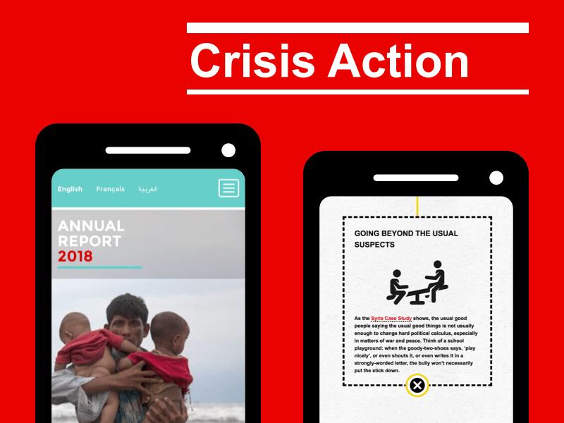 Crisis Action case study